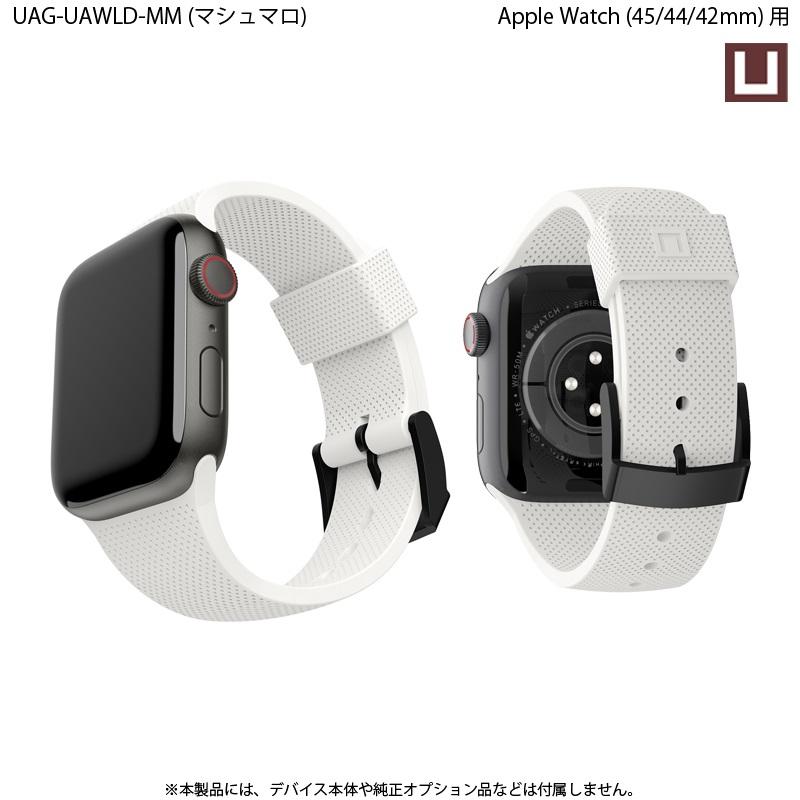U by UAG Apple Watch用バンド 44mm&42mm DOT シリコーンゴムバンド 全5色 UAG-UAWLDシリーズ