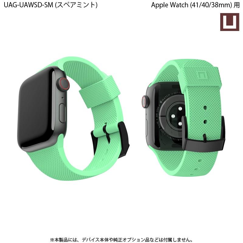 U by UAG Apple Watch用バンド 40mm&38mm DOT シリコーンゴムバンド 全5色 UAG-UAWSDシリーズ