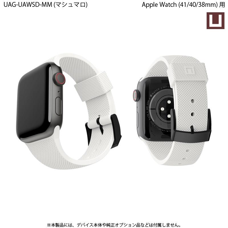 U by UAG Apple Watch用バンド 40mm&38mm DOT シリコーンゴムバンド 全4色 UAG-UAWSDシリーズ