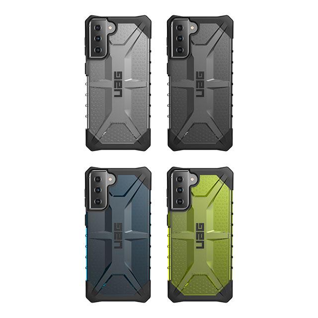 (在庫限り)UAG Galaxy S21+用 PLASMAケース クリアカラー 全4色 耐衝撃 UAG-GLXS21PLSTシリーズ