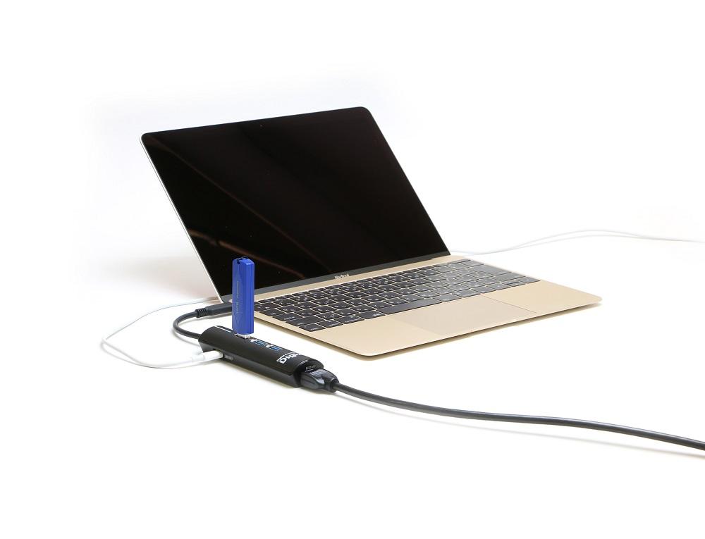 【簡易パッケージ】デジ像DockingStation USB3.1 Type-C対応ドッキングステーション ミニ(HDMI搭載) ブラック EP-PDC3HBKA