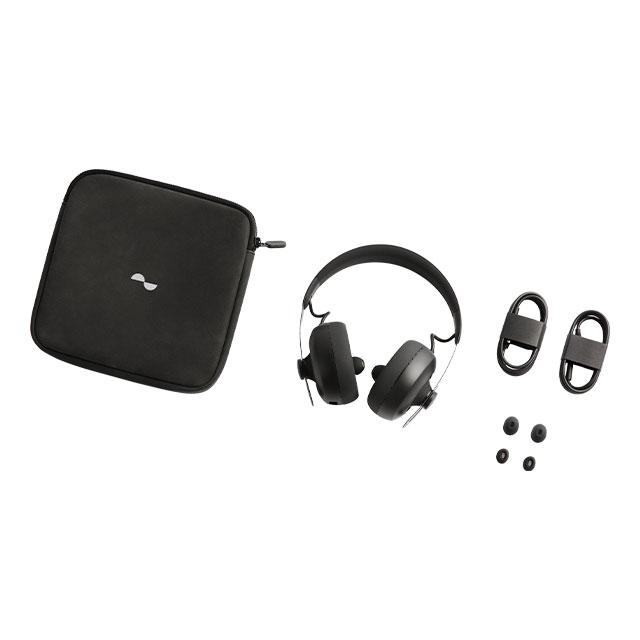 nura 音質パーソナライズ機能搭載 Bluetoothワイヤレスヘッドホン nuraphone ブラック NR-PHNG2