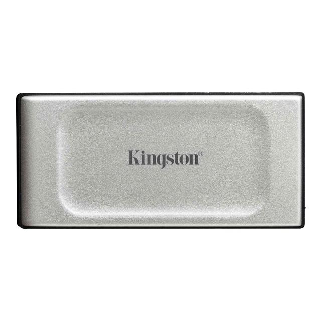 【メーカー取り寄せ】キングストン ポータブル外付けSSD 2TB XS2000シリーズ USB 3.2 Gen 2x2 高耐久 IP55 SXS2000/2000G