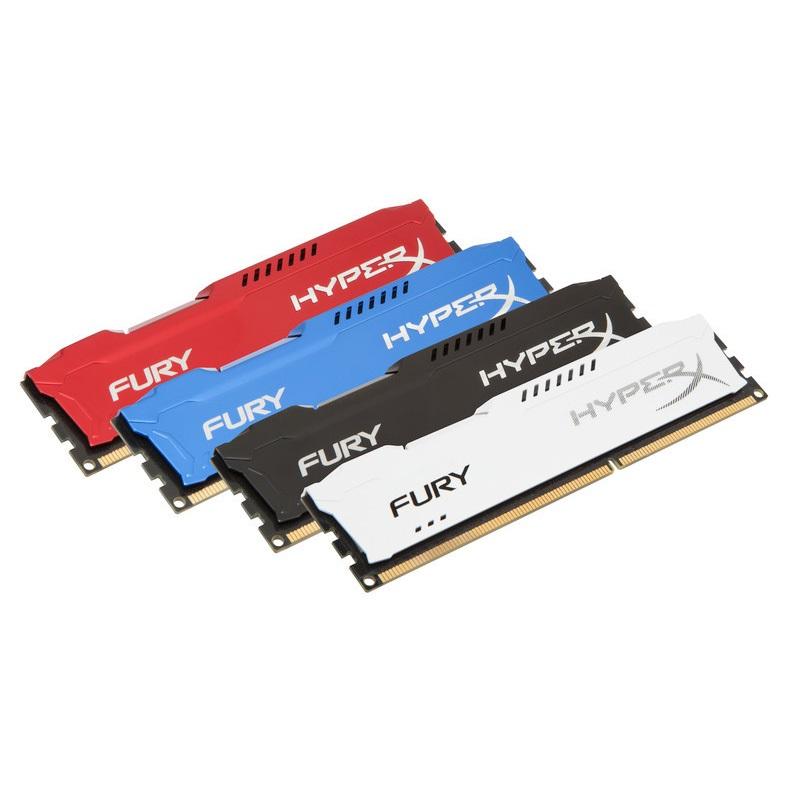 【メーカー取り寄せ】 キングストン HyperX FURY シリーズ 全4色 8GB(4GBx2枚組) 1600MHz DDR3 CL10 DIMM 240pin (Kit of 2) HX316C10FK2/8