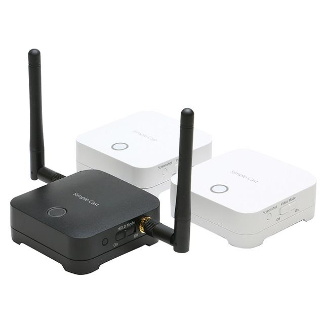 ワイヤレスプレゼンテーション Simple Cast 親機1台+子機2台セット PTW-SPCAST HDMIを無線化