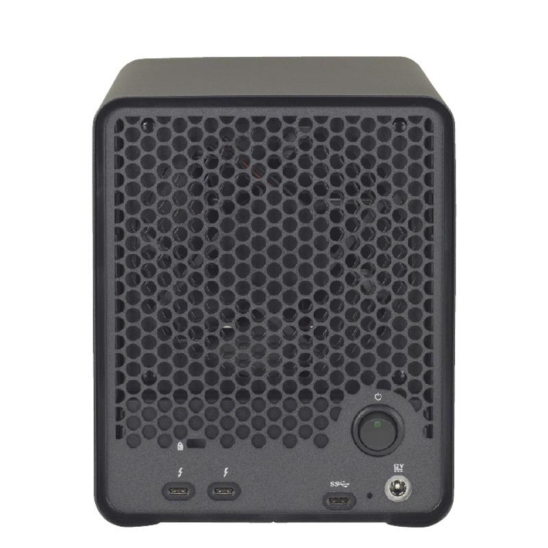 【納期1週間】 Drobo 5D3 HDDパッケージ USB3.0 & Thunderbolt3対応 外付けHDDケース 3.5インチ×5bay Beyond RAID(R) ストレージシステム PDR-5D3+HDD×5台【要同意】