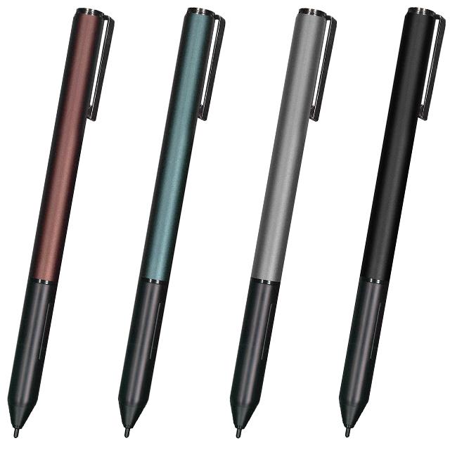 アクティブスタイラス タッチパネル搭載Windows10デバイス専用タッチペン 全4色 PSA-TPMSシリーズ