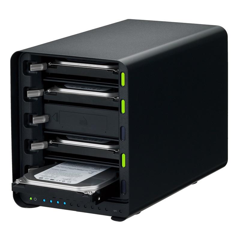 【納期1週間】 Drobo 5N2 HDDパッケージ NASケース 3.5インチ×5bay Beyond RAID(R) ストレージシステム PDR-5N2+HDD×5台【要同意】
