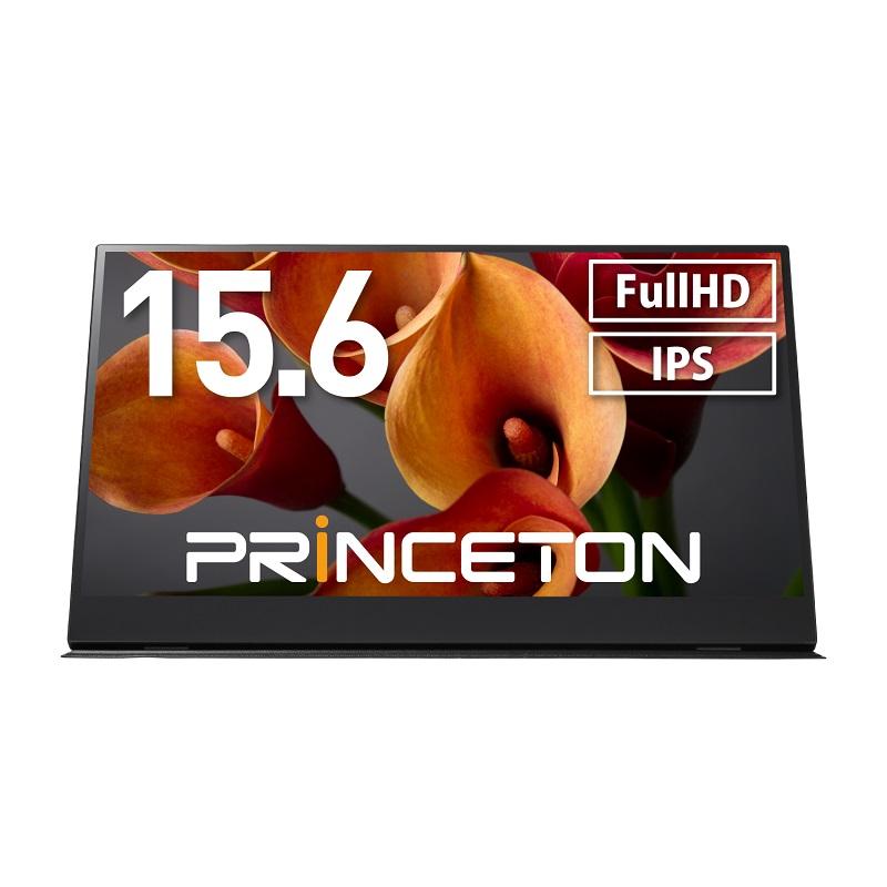 15.6インチ モバイルディスプレイ ブラック フルHD タッチ機能付 USB-C入力対応 PTF-M156T