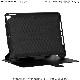 UAG iPad (第9/第8/第7世代)用 SCOUTケース(フォリオ) ブラック 耐衝撃 手帳タイプ UAG-IPD7SF-BK