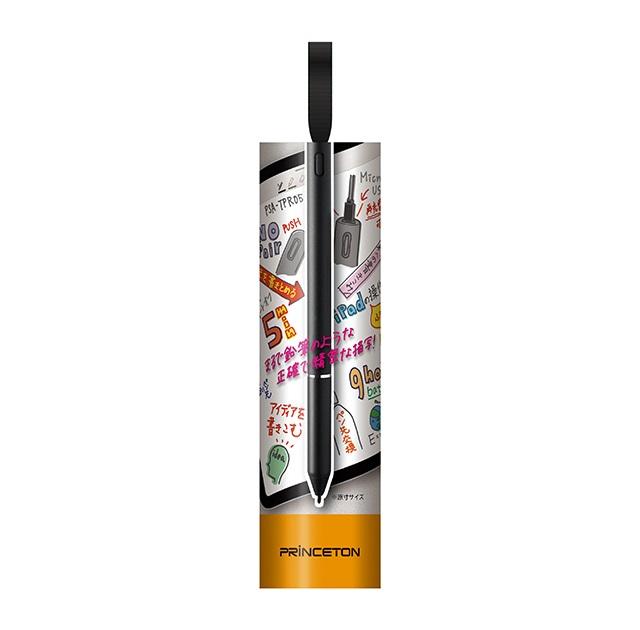 iPad用 アクティブスタイラス ブラック USB充電式 タッチペン PSA-TPR05-BK
