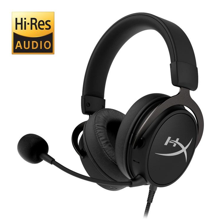 キングストン HyperX Cloud MIX ワイヤードゲーミングヘッドセット + Bluetooth ハイレゾ対応 HX-HSCAM-GM