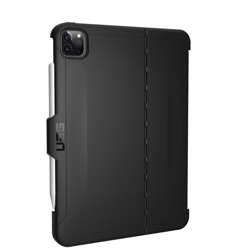 UAG 11インチ iPad Pro (第2世代)用 SCOUTケース ブラック 耐衝撃 UAG-IPDPROMSB2-BK
