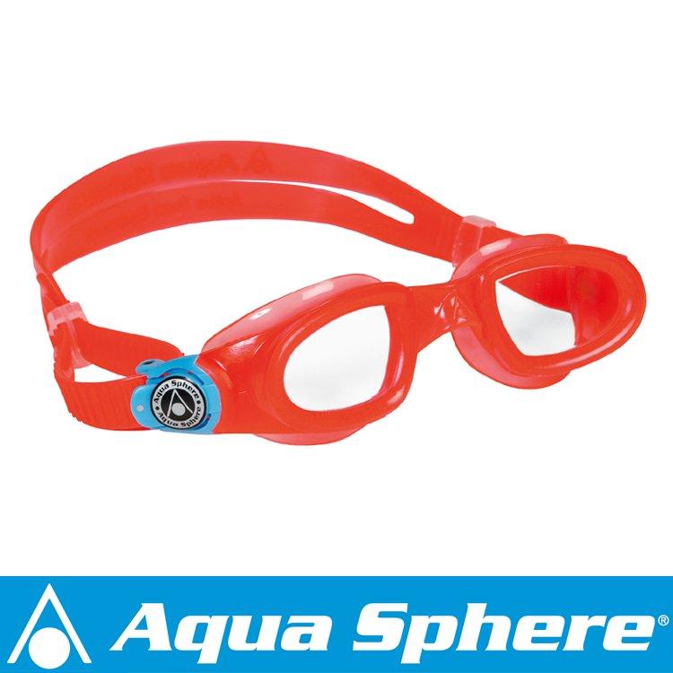 Aqua Sphere/アクアスフィア モビーキッズ クリアレンズ オレンジ[381050296200]