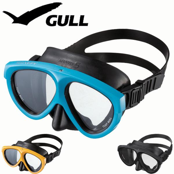 GULL/ガル ダイビング用マスク マンティス5ラバーGM-1002
