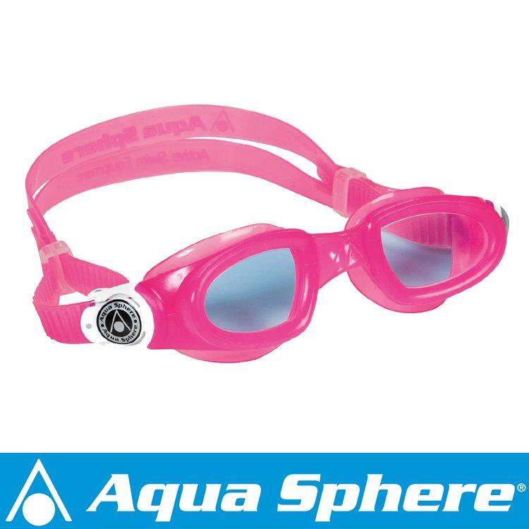 Aqua Sphere/アクアスフィア モビーキッズ ブルーレンズ ピンク[381050300000]