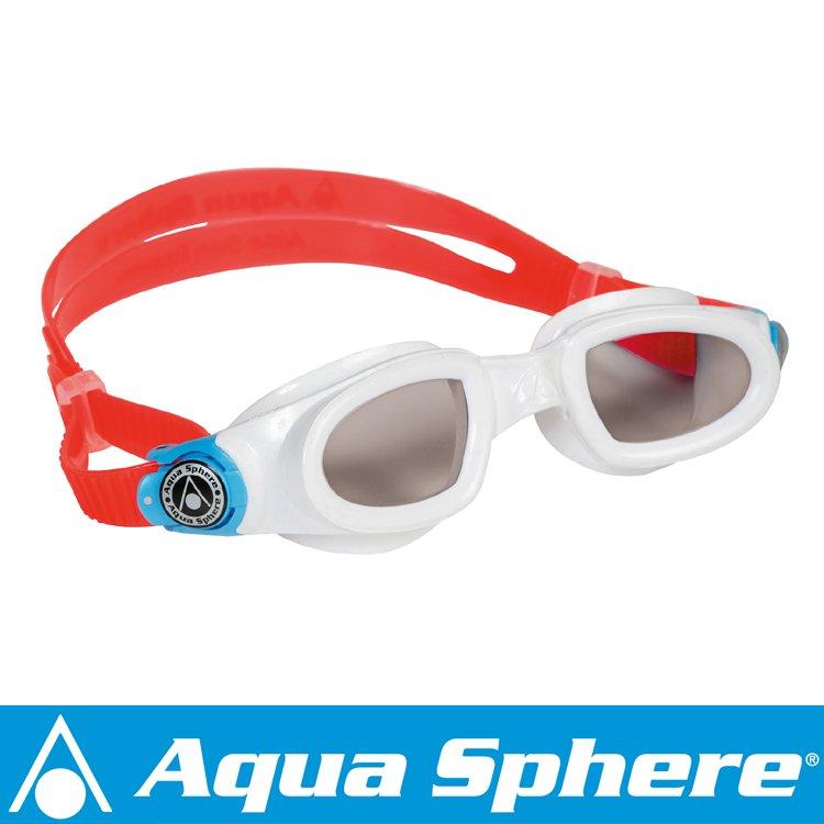 Aqua Sphere/アクアスフィア モビーキッズ ダークレンズ ホワイト[381050310000]