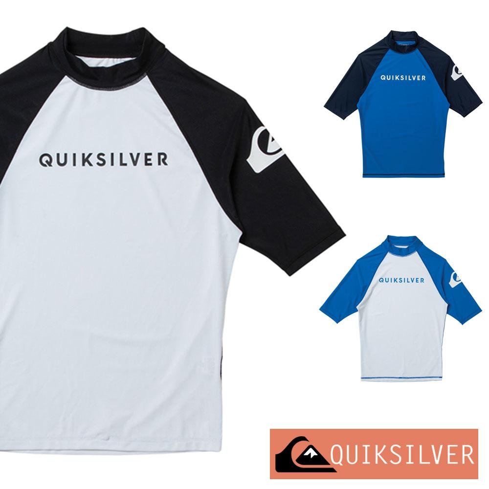 QUIKSILVER クイックシルバー ラッシュガード メンズ 半袖 ON TOUR SR QLY201073