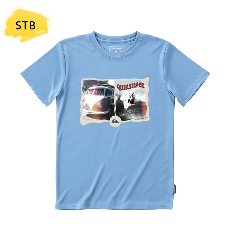 QUIKSILVER クイックシルバー ラッシュガード Tシャツ キッズ ジュニア 半袖 子供用 MORNING SESSION SS KIDS KLY191105