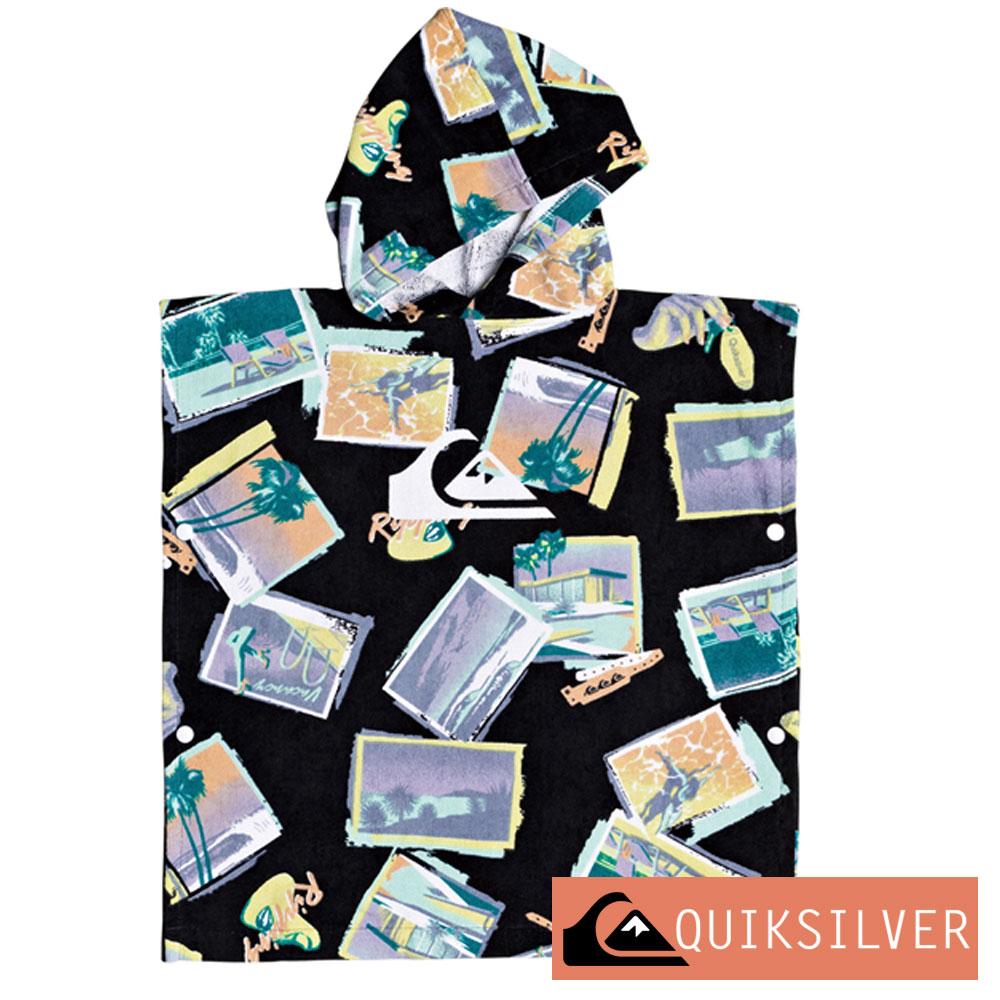 QUIKSILVER クイックシルバー お着替えポンチョ キッズ タオルポンチョ 子供 バスタオル KIDS HOODY TOWEL EQKAA03019