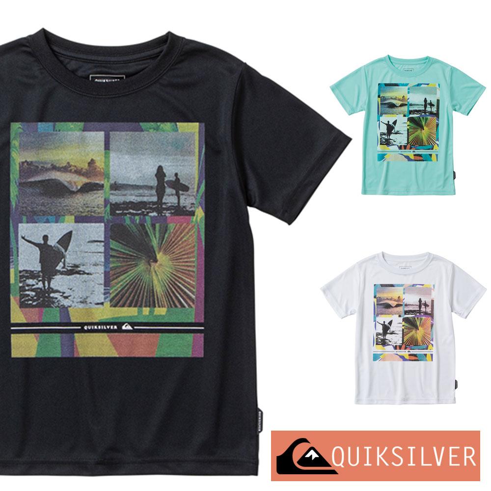 QUIKSILVER クイックシルバー ラッシュガード 子供 半袖 Tシャツ キッズ ジュニア YOUNGER YEARS SS KIDS KLY201122
