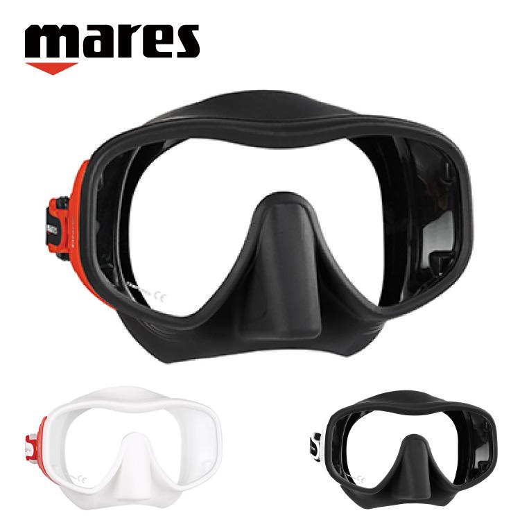 マレス/mares JUNO ジュノ マスク ダイビング シュノーケリング スノーケリング