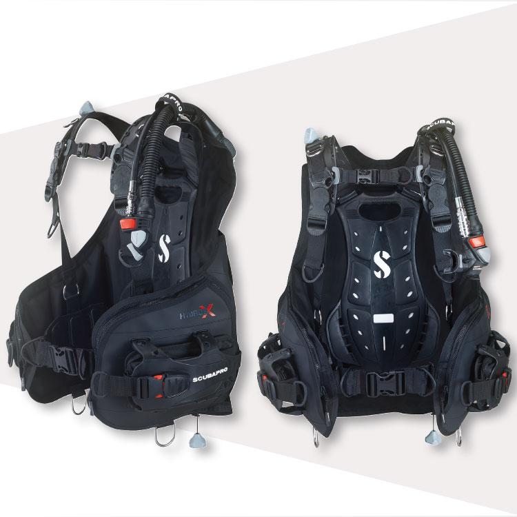 ダイビング BCD BC 重器材 SCUBAPRO スキューバプロ  HYDROS X メンズ 男性用