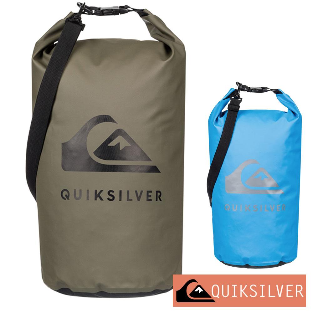 QUIKSILVER クイックシルバー 防水バッグ ドライバッグ ウォータープルーフ 10L 防水 プール ジム バッグ MEDIUM WATER STASH EQYBA03134