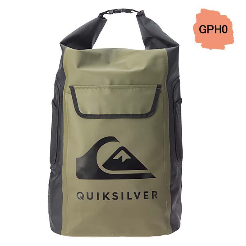 QUIKSILVER クイックシルバー 防水 バックパック リュック 防水バッグ ドライバッグ ウォータープルーフ 35L SEA STASH II EQYBP03562
