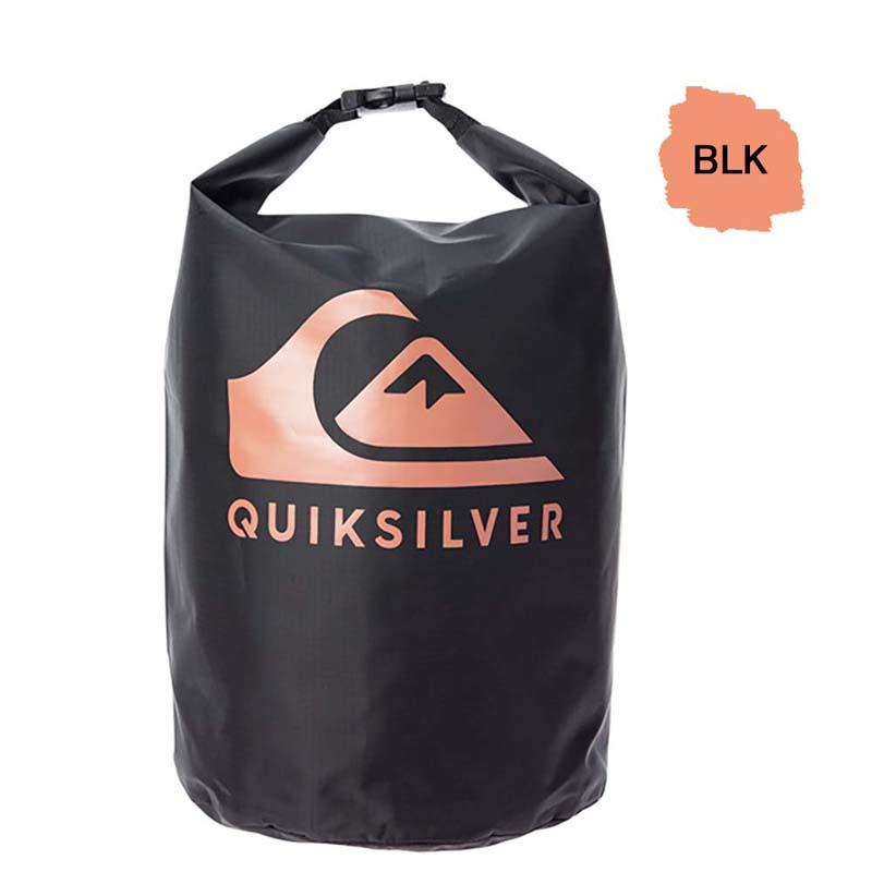 QUIKSILVER クイックシルバー 防水バッグ ドライバッグ ウォータープルーフ 10L 防水 プール ジム バッグ BLOCK SACK 10L QBG201317