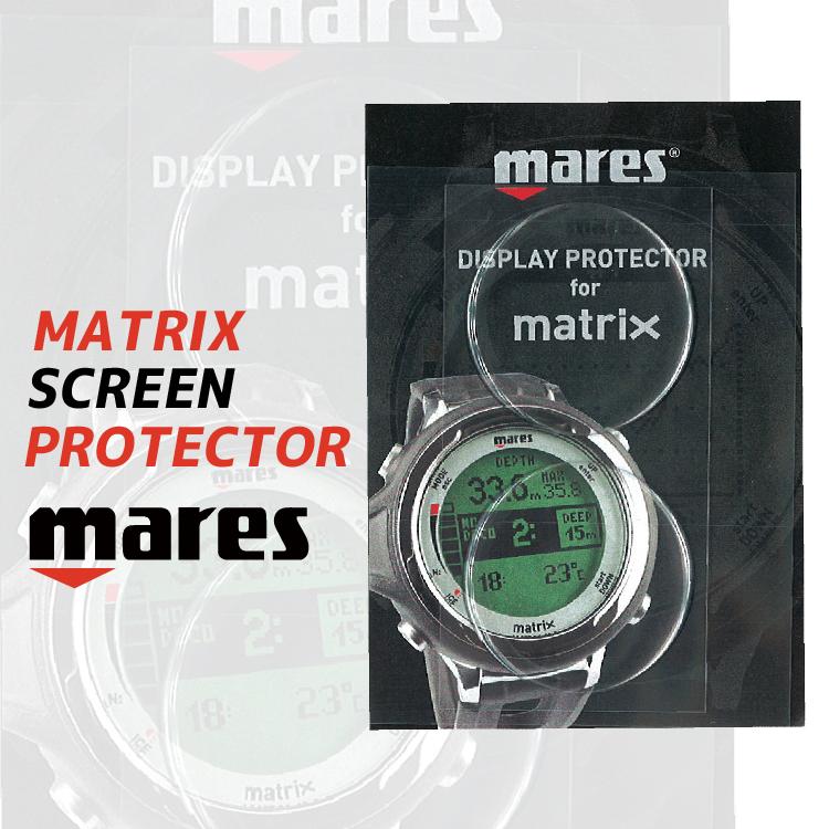 mares マレス マトリックス スクリーン プロテクター