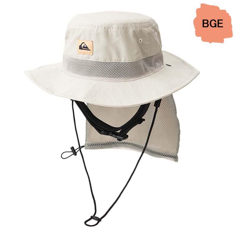 QUIKSILVER クイックシルバー サーフハット メンズ サファリハット UVハット ビーチハット サーフキャップ UV WATER CAMP HAT QSA201751