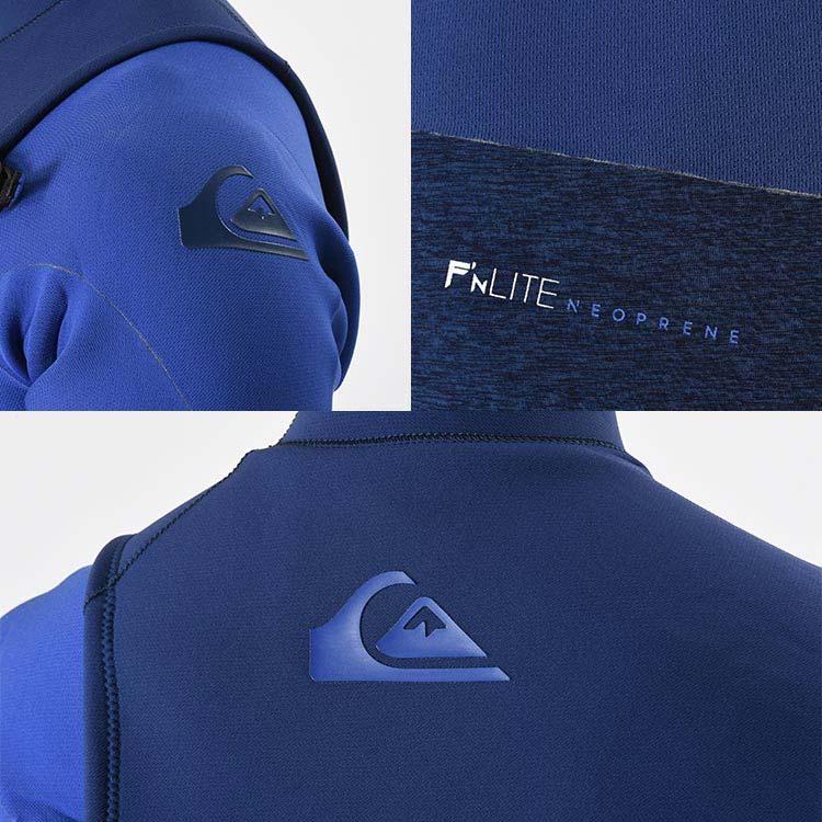 QUIKSILVER クイックシルバー ウェットスーツ 3mm × 2mm ウエットスーツ  メンズ フルスーツ  3/2 HIGHLINE SERIES ZIPLESS FULLSUIT QWT191902