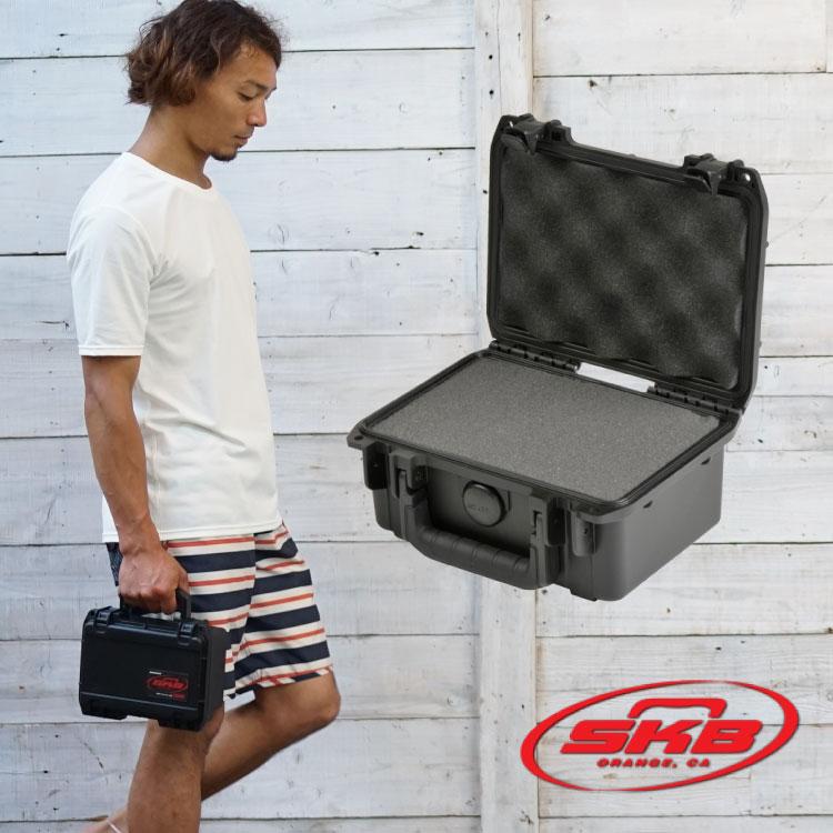 ウォータープルーフ ハードケース SKB エスケービー iSeries 0705-3 ウレタンフォーム有り 防水 防塵 耐衝撃 バッグ