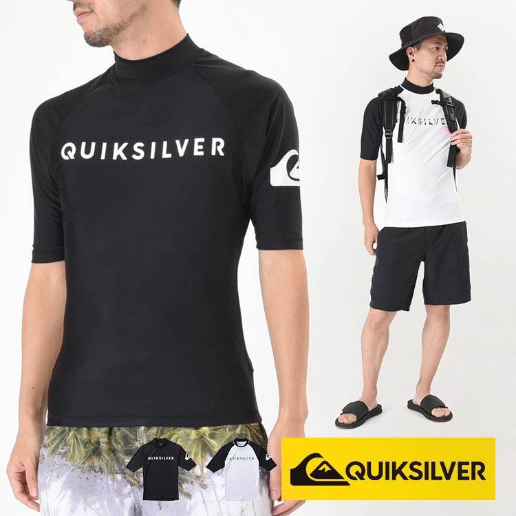 QUIKSILVER クイックシルバー ラッシュガード メンズ 半袖 ON TOUR SR QLY181003