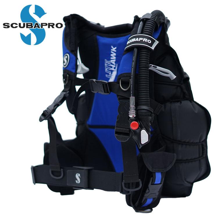 ダイビング BCD 重器材 SCUBAPRO スキューバプロ Sプロ ライトホーク バックフロート