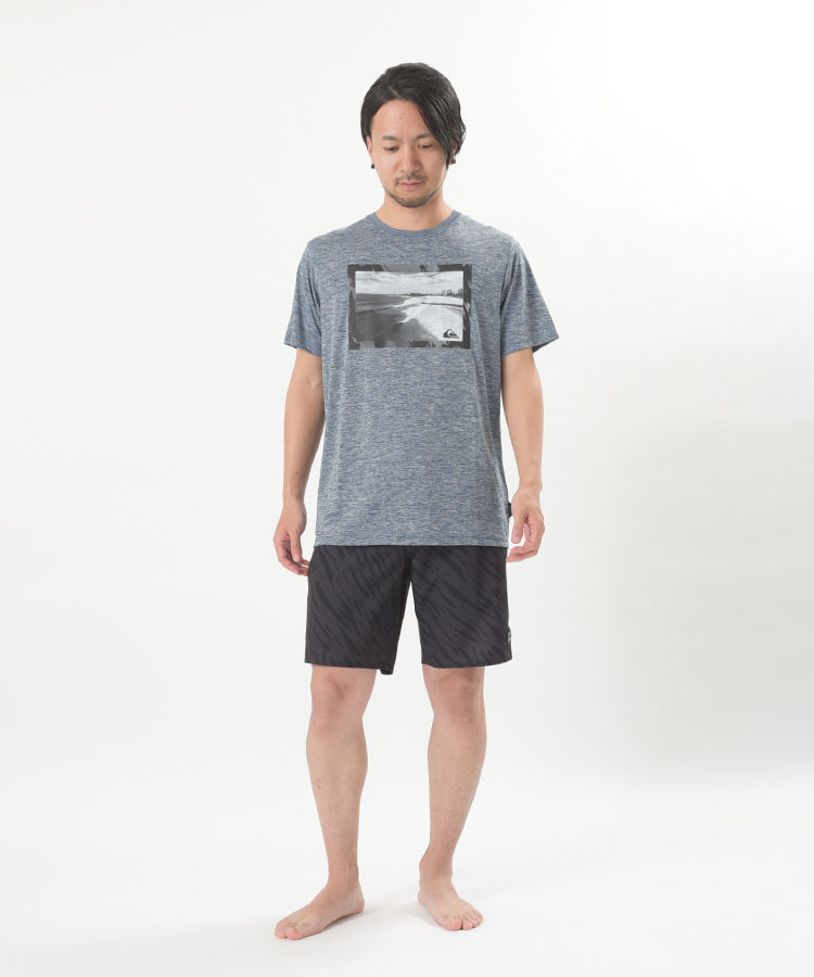 QUIKSILVER クイックシルバー ラッシュガード Tシャツ メンズ 半袖 QP THE GOLDY SS QLY191010