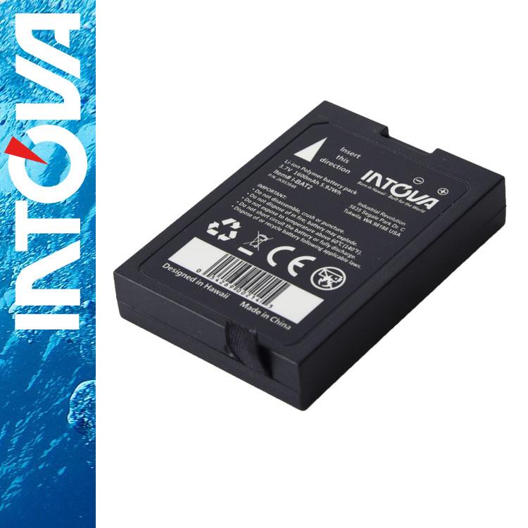 バッテリー intova/イントバ I-BAT2 予備・交換用バッテリー for X2/HD2