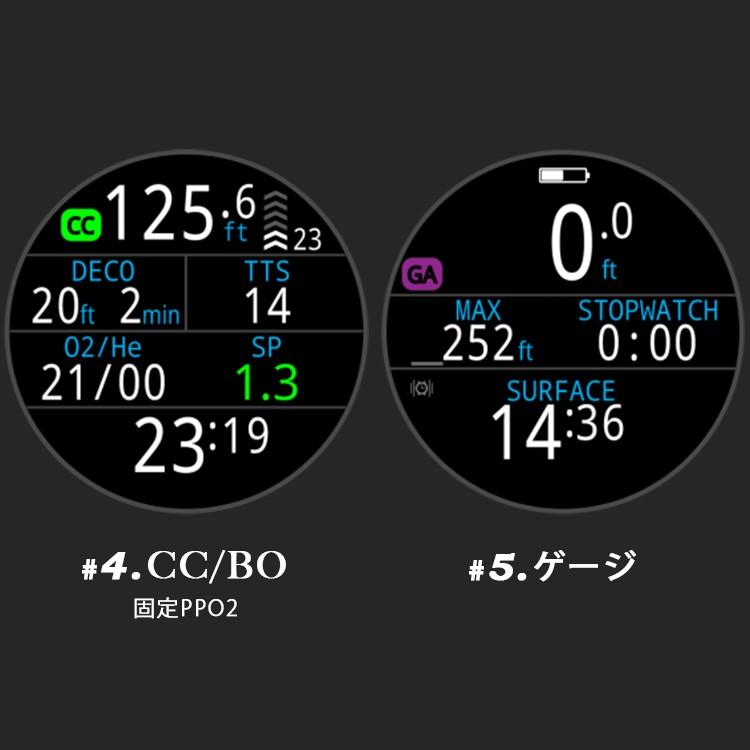 SHEARWATER/シェアウォーター TERIC テリック ダイブコンピュータ