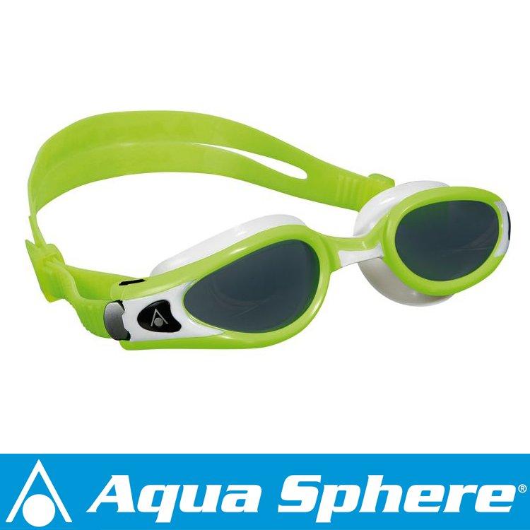Aqua Sphere/アクアスフィア ケイマンエグゾー ダークレンズ ホットライム/ホワイト S[381050224600]