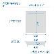 エレベーター用防災キャビネット elecabi(フラットタイプ)DRK-EC2CS(コクヨ エレベーター 閉じ込め 対策 対応 備蓄 マンション 地震)