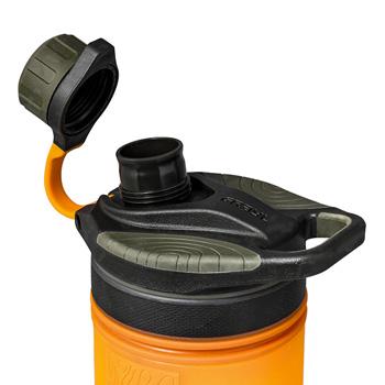 浄水器 GRAYL グレイル ジオプレスピュリファイヤー 浄水ボトル 本体 ビジブリティオレンジ/カモブラック/コヨーテアンバ #1899153 アウトドア 防災