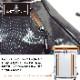 防災士のおすすめ 防水スクエアリュック ホワイト/ブラック 非常持ち出し袋 防水ファスナー 撥水ターポリン生地