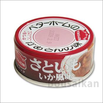 ベターホーム協会缶詰<さといもいか風味70g×48缶>