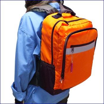 浮くリュック#3R70[カラー:レスキューオレンジ](バッグ/カバン)