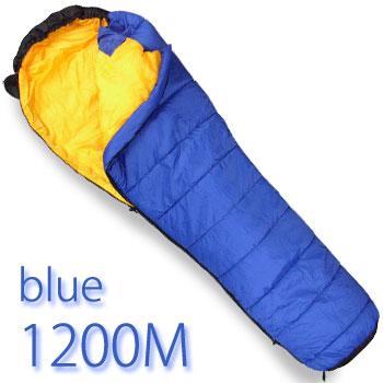 寝袋 シュラフスーパーライト1200M【色:ブルー】(寝具/アウトドア/山岳/登山/トレッキング)