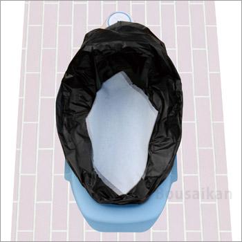 非常用トイレ防衛袋(ぼうえいたい)100回セット[和・洋式兼用]