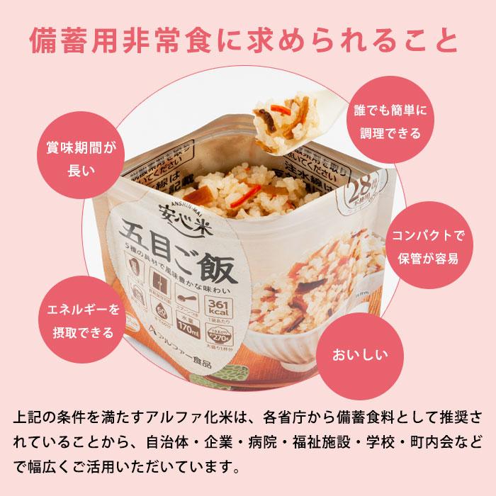 非常食アルファ米 安心米 ドライカレー 100g アルファー食品[M便 1/4]