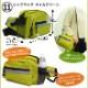 帰宅支援ヒップバッグセット ライムグリーン/ブラック(非常用持ち出し袋 防災セット 防災袋 防災用品セット 防災リュック)