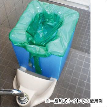 ベンリー・プラトイレPT-6B[和式兼用タイプ](プラダン/非常用/災害備蓄/組立式トイレ/簡易トイレ/折畳み/折りたたみ)